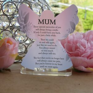 Personalised Those Special Memories Tea Light Angel
