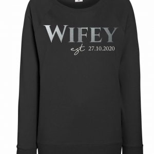 Personalised Adult Wifey Jumper