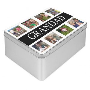 Personalised Photo Collage Tin