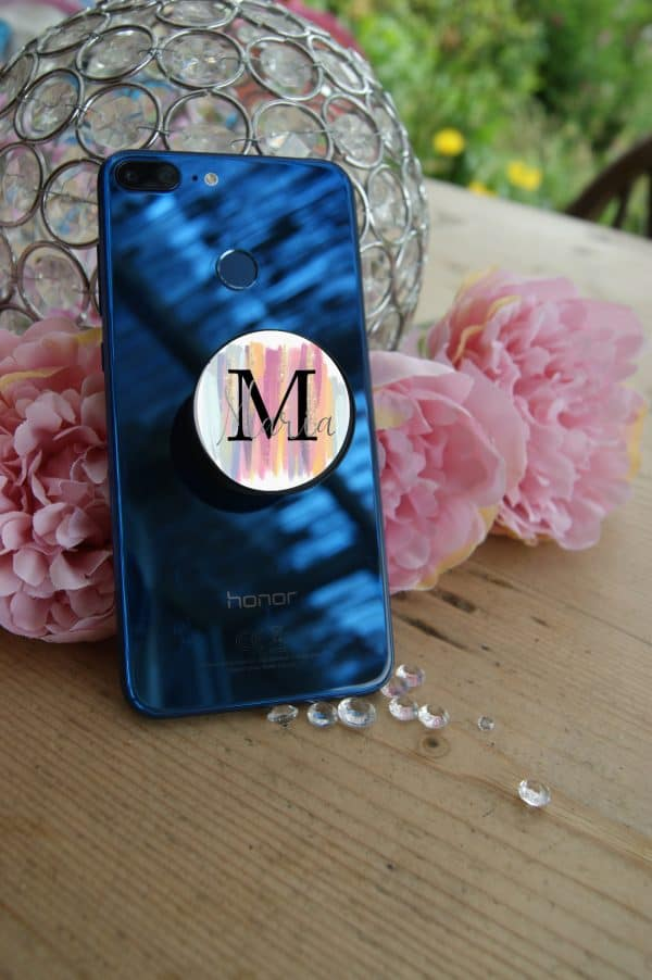 Personalised Initial Phone Case Pop Socket