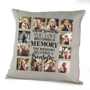 Personalised When Someone You Love Becomes A Memory Cushion