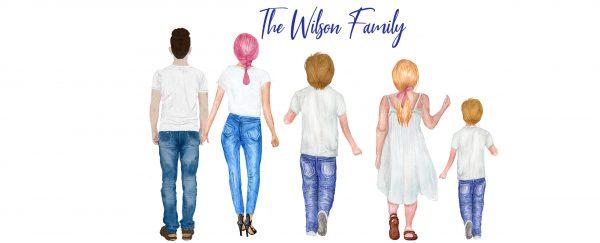 Personalised Character Family Mug