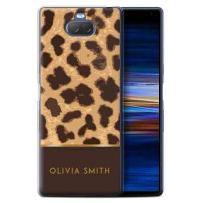 Personalised Custom Fashion Animal Print Pattern Leopard Cheetah Hard Back Phone Case