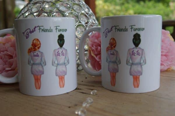 Personalised Will You Be My Bridesmaid Mug
