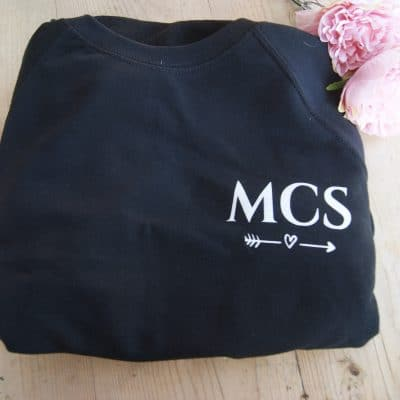 Personalised Adult Ladies Initials Jumper