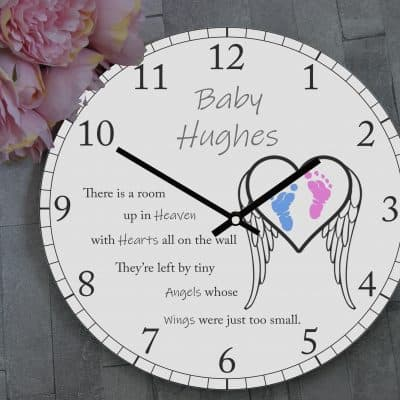 Personalised Tiny Angels Clock