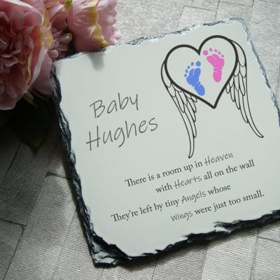 Personalised Tiny Angels Slate