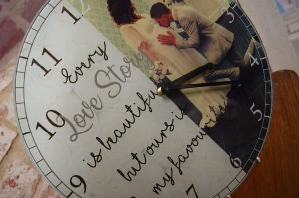 Personalised Every Love Story Clock