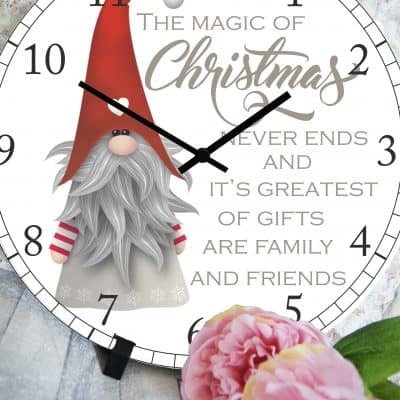 The Magic Of Christmas Clock