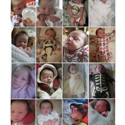 Personalised Photo Collage Polor Fleece Blanket