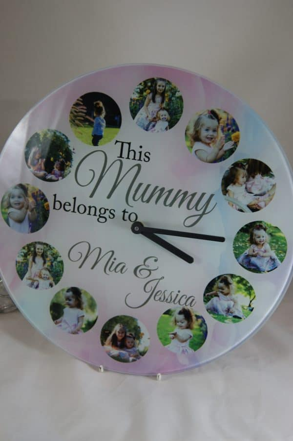 Personalised This Mummy Belongs To Clock