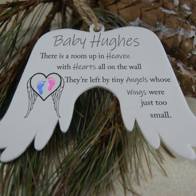 Personalised Tiny Angels Angel Wings
