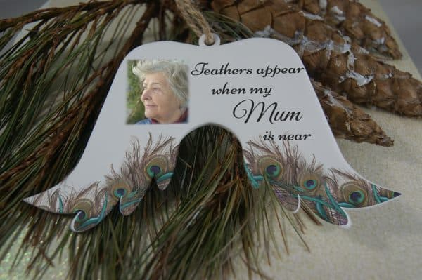 Personalised Feathers Appear Angel Wings