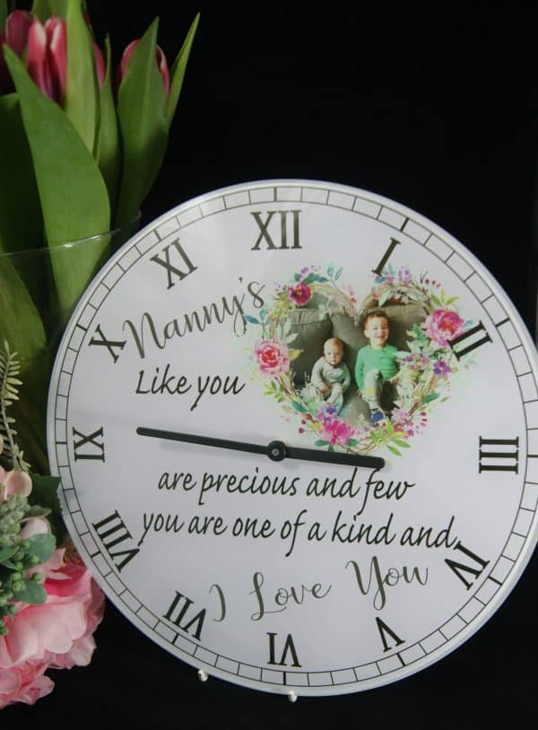 Personalised Nanny's Like You Clock