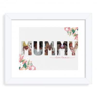 Personalised Mummy/Mum Collage Design