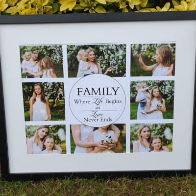 Personalised Family Where Life Begins Design