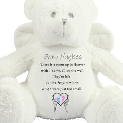 Personalised Tiny Angels Angel Bear