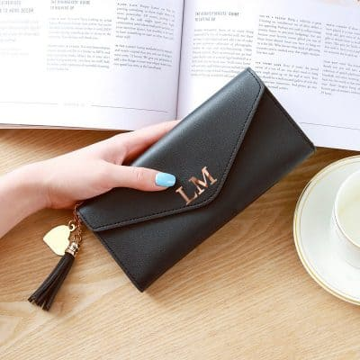 Personalised Initials Clutch Purse