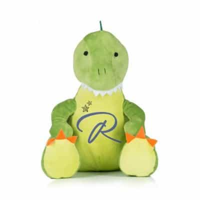 Personalised Initial Dinosaur Soft Toy