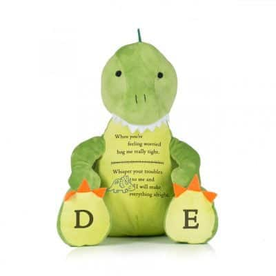 Personalised Worry Dinosaur Soft Toy