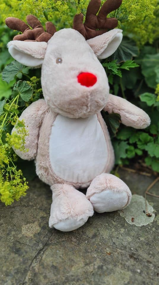Design Your Own Reindeer Soft Toy
