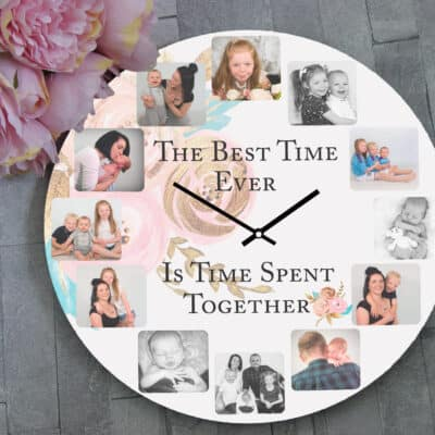 Personalised The Best Time Clock