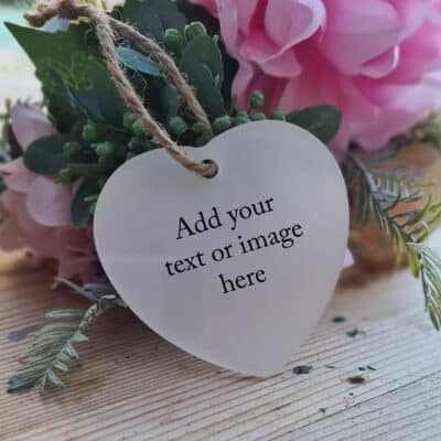 Design Your Own Heart Ornament