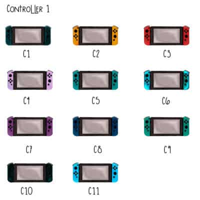 Controller 1 Choices