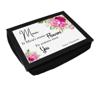 Personalised I Would Pick You Laptray