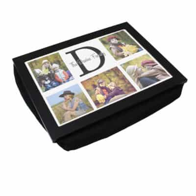 Personalised Initial Family Laptray