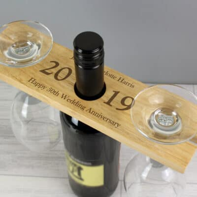 Personalised Year Wine Butler