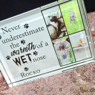 Personalised Wet Nose Photo Block