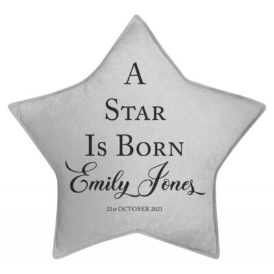 Personalised A Star Is Born Star Cushion