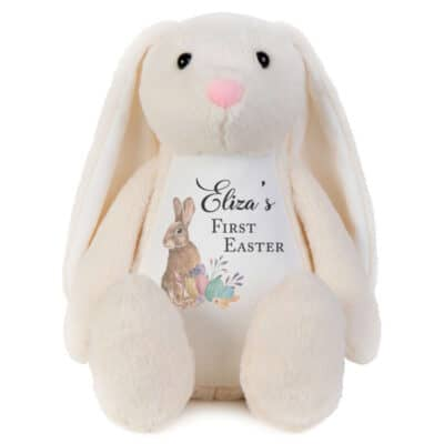 Personalised First Easter Bunny Soft Toy