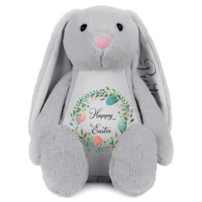 Personalised Happy Easter Bunny Soft Toy