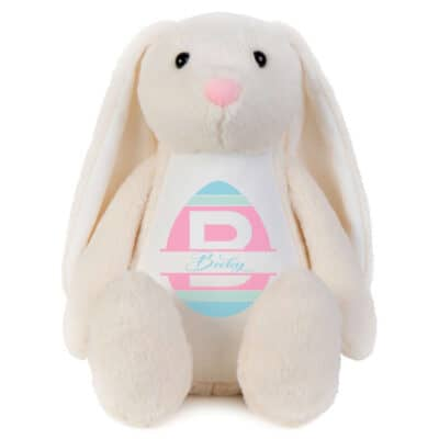 Personalised Easter Egg Bunny Soft Toy