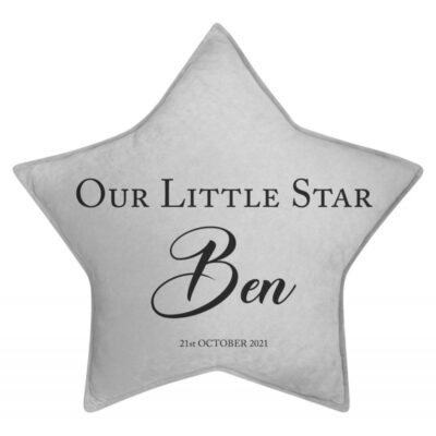 Personalised Our Little Star Cushion