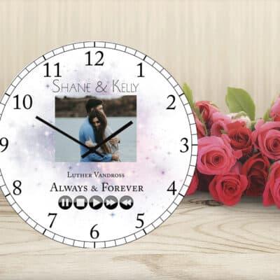 Personalised Song Clock
