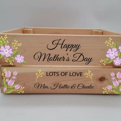 Personalised Mother's Day Crate Design 1
