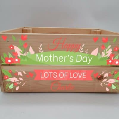 Personalised Mother's Day Crate Design 2