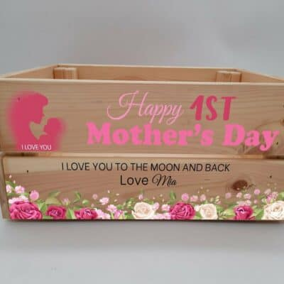 Personalised Mother's Day Crate Design 3