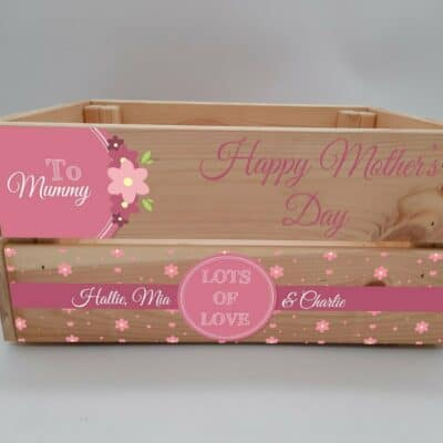 Personalised Mother's Day Crate Design 4