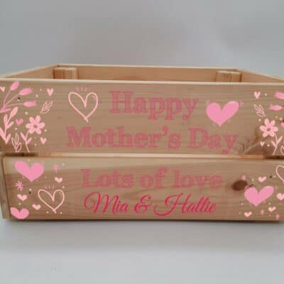 Personalised Mother's Day Crate Design 5