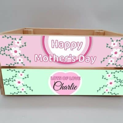 Personalised Mother's Day Crate Design 6