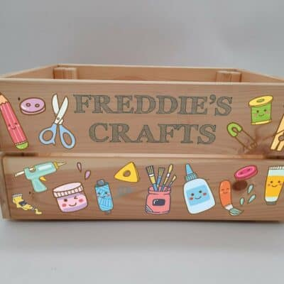 Personalised Craft Crate