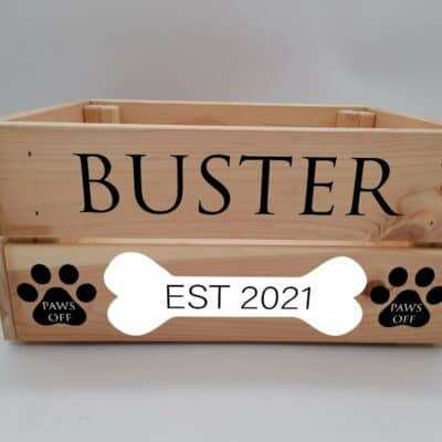 Personalised Dog Design 3 Crate