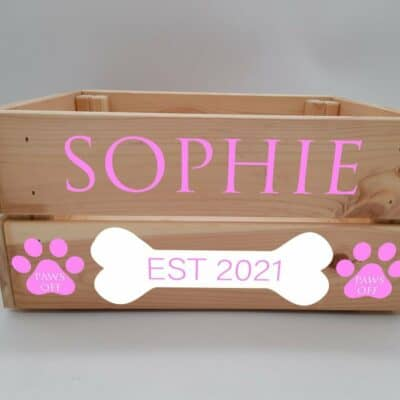 Personalised Dog Design 4 Crate