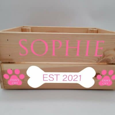 Personalised Dog Design 5 Crate
