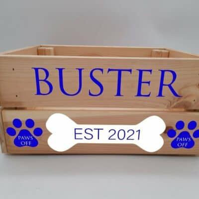 Personalised Dog Design 6 Crate