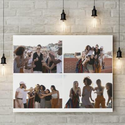 Personalised 4 Photo Collage Design
